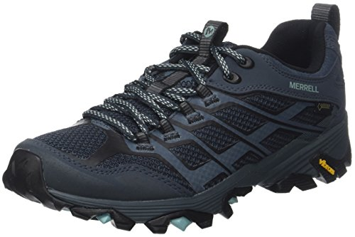 Boots Grey Moab Slate Merrell FST Rise Tex Women's Gore Low Hiking Z4SqR4