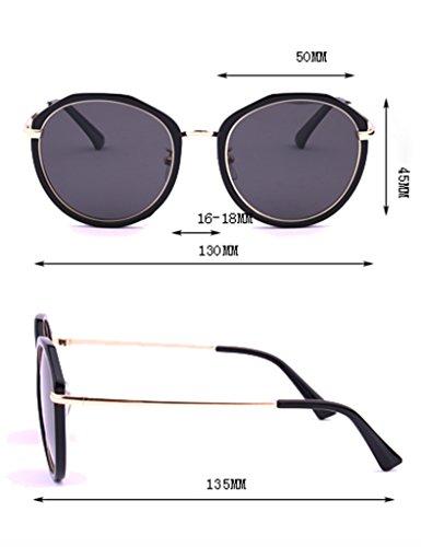 de Lunettes légères Couleur conduite lunettes D polarisé féminine soleil Rétro de masculin mode soleil D miroir HqadBqR