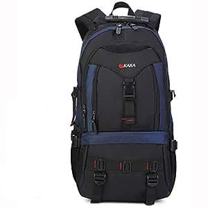 KAKA Backpack for Laptops 15.6 Inch Computer Bag Casual School Bookbag for Men and Women 35L Blue