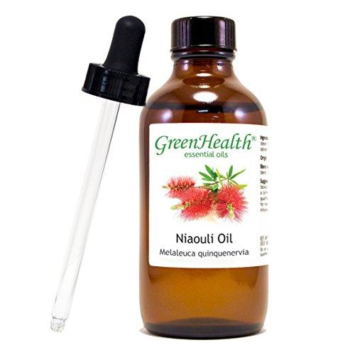 (GreenHealth Niaouli Essential Oil - 4 fl oz (118 ml) Glass Bottle w/Glass Dropper - 100% Pure )