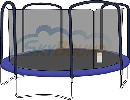 Premium Red para cama elástica para Jumpking Bazoongi/orbounder 15 ...