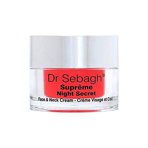 Dr Sebagh Suprme Night Secret Face & Neck Cream - 夜の秘密の顔&首のクリーム [並行輸入品] B071RM8CNW