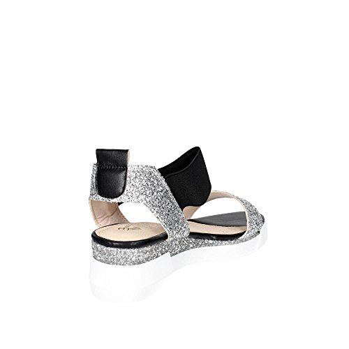 Braccialini Donna Braccialini B111 Sandalo B111 Argento PIvq7