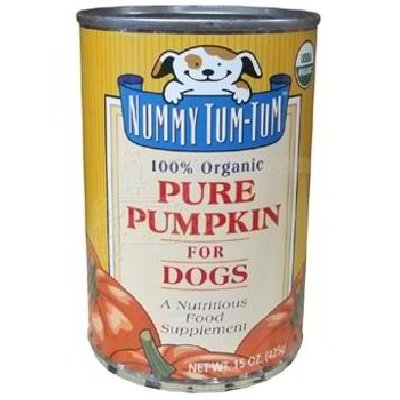Nummy Tum-Tum Pure Pumpkin Dog Food 12x 15OZ