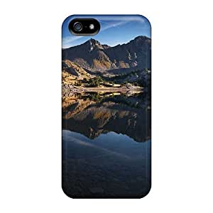 Awesome VWO1984lINk TianMao Defender Hard Case Cover For Iphone 5/5s- Mountain Lake 17912