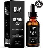 Beard Oil | Beard Growth |100% Natural With Argan Oil, Jojoba Oil, Calendula Oil, Rosehip Oil, Aloe...