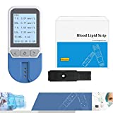 Blood lipid Detector, Home Multi-Function Automatic Blood lipid Total Cholesterol Test Paper Triglyceride Tester Medical