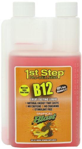 High Performance Fitness, Inc. 1st Step Liquid B-12 Tropical