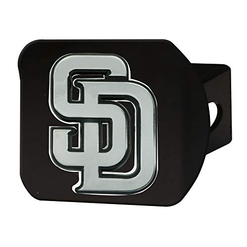 FANMATS MLB - San Diego Padres Hitch Cover - Black