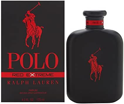 Polo Red Extreme by Ralph Lauren for Men 4.2 oz Parfum Spray