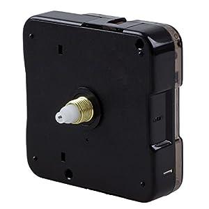 SODIAL(R) Maquinaria Mecanismo Reloj Agujas Manualidad de Artesania AA Negro 3