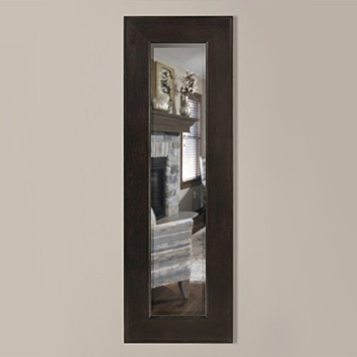 Timber Vaults, Inc Kentwood Gun Concealment Mirror, Large in Espresso Finish with RFID Lock