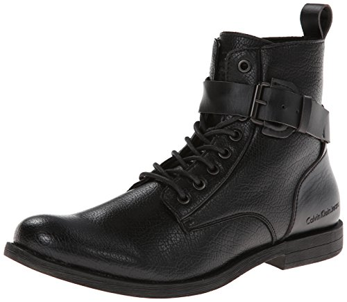 UPC 888542002634, Calvin Klein Jeans Men's Nolon Tumbled Smooth Boot,Black,11.5 M US