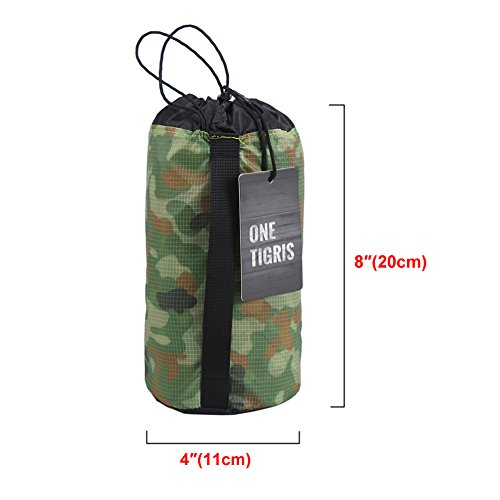 OneTigris Outdoor Hexagonal Camo Sil Tarp Waterproof & Ultralight RipStop Nylon Material 1310ft for Backpacking Hiking Camping (Camo) by OneTigris (Image #2)