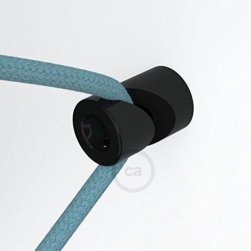 Decentratore Per Lampadari.Creative Cables Dcg01ner Decentratore Gancio A V A Soffitto O Parete Universale Per Cavo Elettrico Tessile Nero