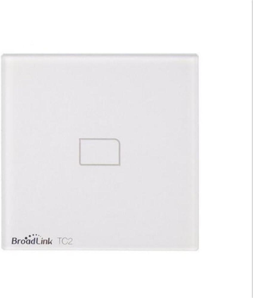 EU//UK Broadlink TC2 1 Gang Wifi Wireless Remote Control Light Switch Touch Panel