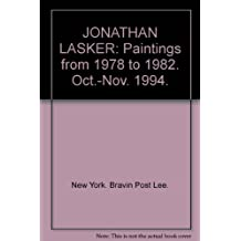 JONATHAN LASKER: Paintings from 1978 to 1982. Oct.-Nov. 1994.