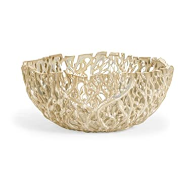 IMAX 5.5H in. Vargas Cutwork Decor Bowl