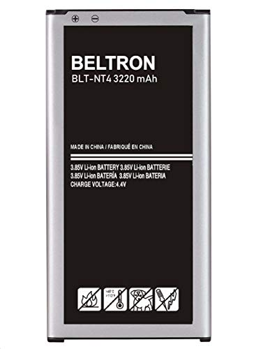 BELTRON Replacement Battery for Samsung Galaxy Note 4 (SM-N910 AT&T Sprint T-Mobile US Cellular Verizon) EB-BN910BBU