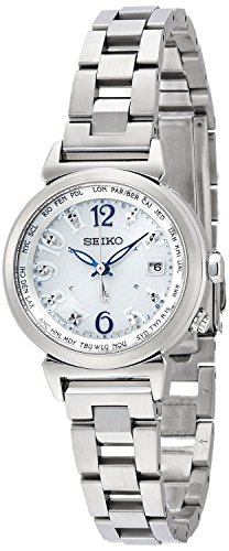 SEIKO WATCH watch LUKIA Rukia Lucky passport Solar radio Modify sapphire glass super clear coating for everyday life waterproof SSVV001 Ladies
