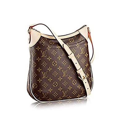 Stylish Canvas Monogram Odeon PM Shoulder with Zipper Bag Delighted Men and Women Fashion by Look At My Bags