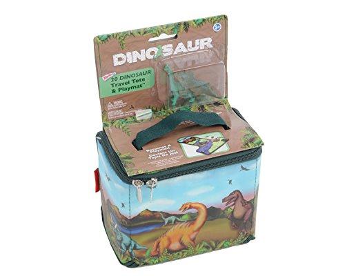 ZipBin 20 Dinosaur Tote w/Dino
