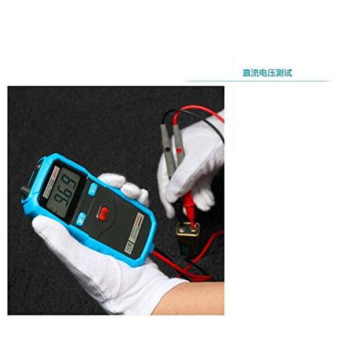 Bside ADM06/portatile Auto Gamma multimetro digitale AC//DC Voltmetro Test di Continuit/à tensione senza contatto Rilevamento Retroilluminazione