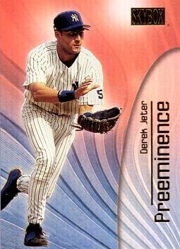 2000 Fleer Skybox Preeminence 2 Derek Jeter Baseball Card - Near Mint to Mint