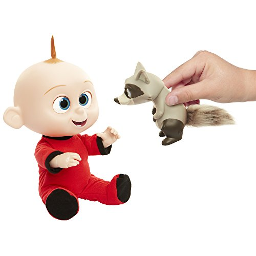 The Incredibles 2 Jack-Jack Plush-Figure Features Lights & Sounds and comes with Raccoon Toy by The Incredibles 2 (Image #4)