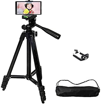 Tripod Stand for Mobile and Camera WT3120 Black Edition