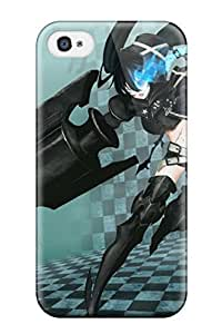 Hot LoqpJSE8678Ktnzm Case Cover Protector For Ipod Touch 5- Black Rock Shooter Anime