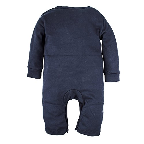 Big Elephant Baby Boys' 1 Piece Basic Long Sleeve Romper Pajama Blue G71, Blue, 3-6 Months