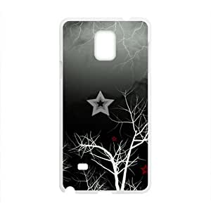 Artistic Tree Branch White Phone Case for Samsung Galaxy Note4