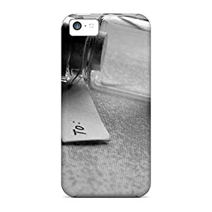 Premium Protection Heart In A Bottle Cases Covers For Iphone 5c- Retail Packaging