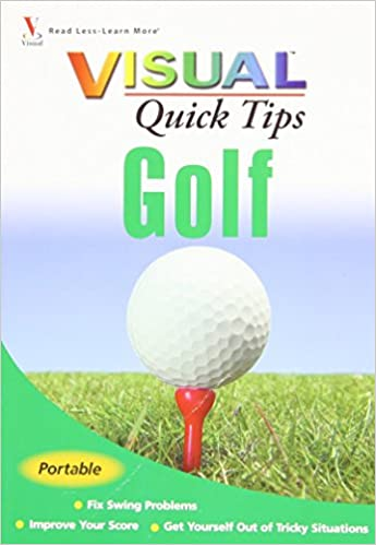 Book Golf Visual Quick Tips by Cheryl Anderson (3-Feb-2009)