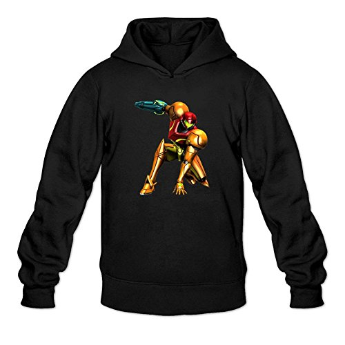 Reder Men's METROID1 Sweatshirt Hoodie XXL Black