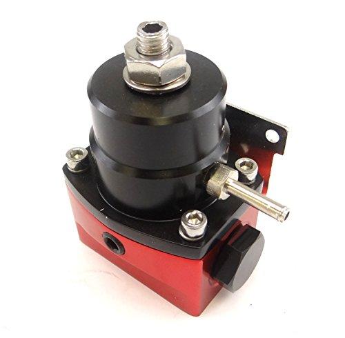 universal adjustable efi aluminum fuel pressure regulator kit import it all. Black Bedroom Furniture Sets. Home Design Ideas