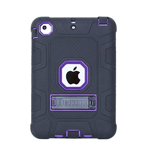 Silicone Clear Case for Apple iPad Mini 1/2/3 (Clear) - 1