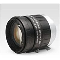 Fujinon HF50HA-1B 2/3 50mm F2.3-F22 Fixed Focal Lens for 1.5MP Cameras, C-Mount, Manual Iris, Machine Vision Applications