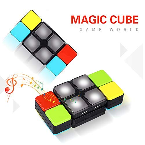 UPSTONE Colorful Electronic Music Magic Cube,Electronic Music Puzzle,Interactive Creative Flip Decompression Toy for Children,Kids,Teenagers,Adults.Music Sound Slide ()