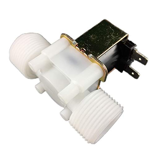 Size : 12V WSF-Adapters 1pc Connection Size 3//4 Plastic Solenoid Valve 12V 220V Water Valve Small Flow