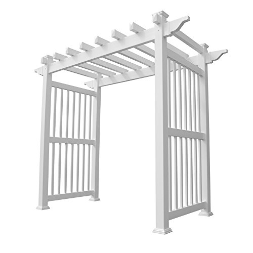 Weatherables Imperial Vinyl Arbor, 96 by 88-Inch (Wide Arbor)