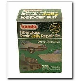 Bondo 431 Fiberglass Resin Jelly Kit - Pint Can - Fiber Body Kit