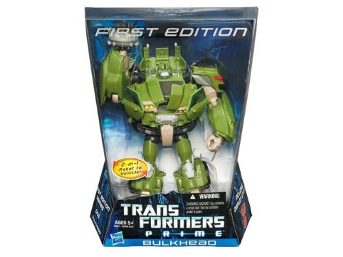 Transformers Prime First Edition Voyager Bulkhead Voyager Action Figure (First Transformer)
