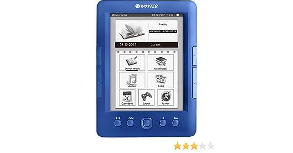 LIBRO ELECTRONICO WOXTER EBOOK E-INK SCRIBA 175 PEARL BLUE WX624 ...