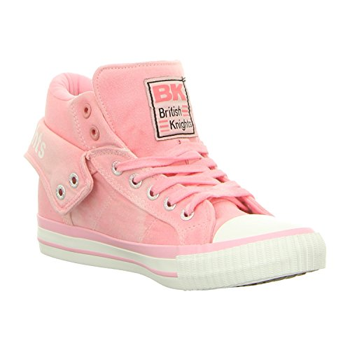 Rosa Donne Knights Sneakers Alte British Roco 4FnUqw