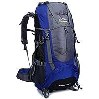 SKYSPER- Large 65 Litre Backpack Hiking Travel Camping Rucksack Daypack Holiday Luggage Bag