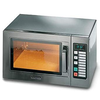 Horno microondas digital Panasonic NE 1037 W IEC 1000-10 ...