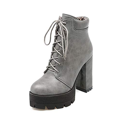 AdeeSu Womens Solid Platform Mule Shoes Urethane Boots SXC02709 B07JGL6N3M Shoes Mule c091d1