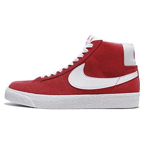 Nike Mens Sb Zoomblazer Midden, Universiteit Rood / Wit, 14 M Us